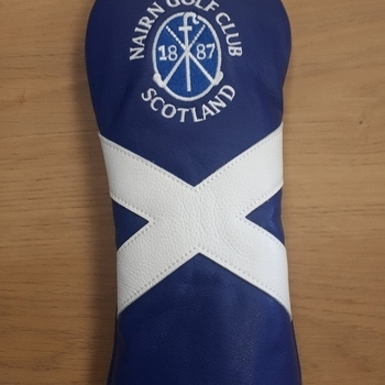 Nairn Golf Club Saltire AM&E Hybrid headcover