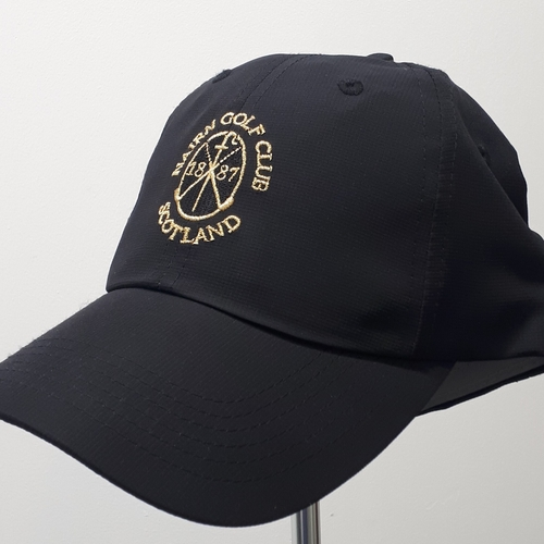 Imperial X210P Cap - Black/Gold