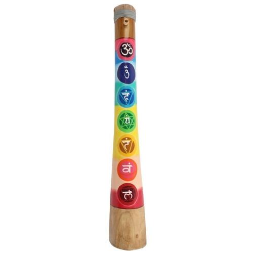 Wooden Chakra Horn