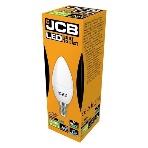 JCB LED CANDLE 470lm OPAL E14 (SES) 6500K, PACK OF 1 - JCB - S10982