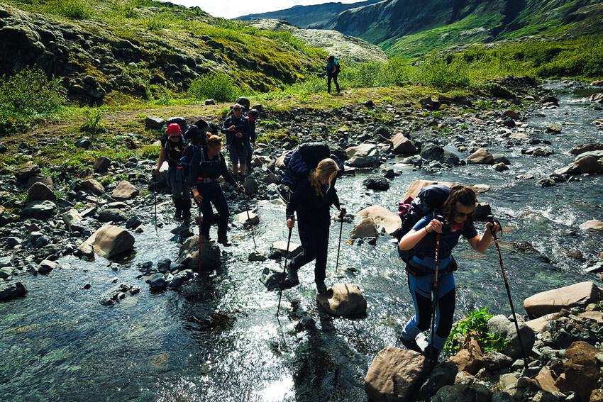 Núpsstaðaskógar - Expedition