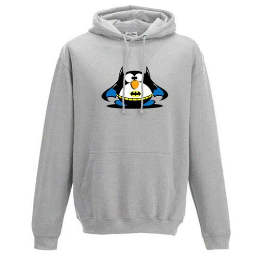 'Bat Fat Penguin' Hoodie