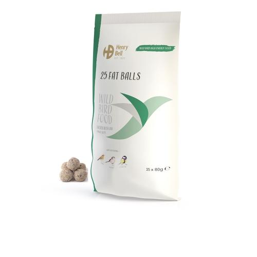 Henry Bell 25 Premium Fat Balls