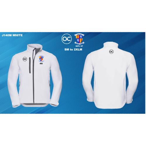 NEPL UP J140M Softshell jacket White