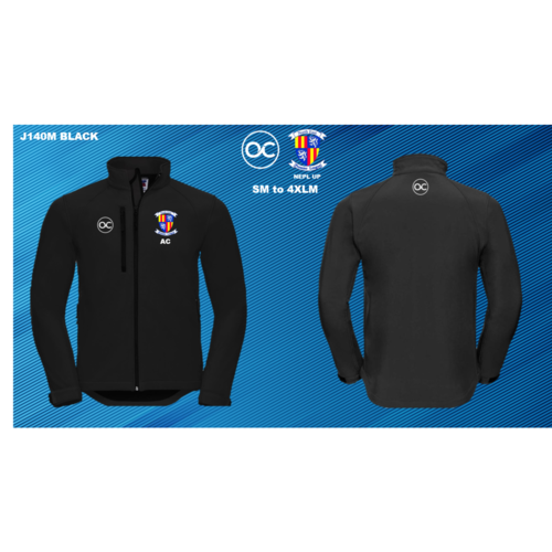 NEPL UP J140M Softshell jacket Black