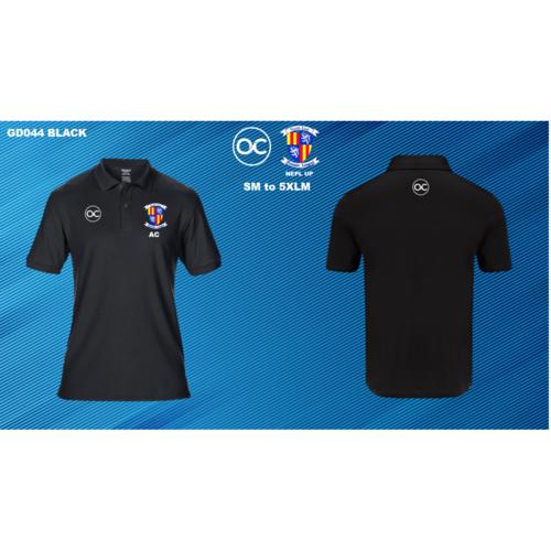 NEPL UP GD044 DryBlend® double piqué sport shirt Black