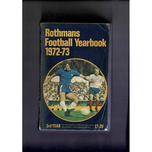 Rothmans Football Yearbook 1972/73 Softback