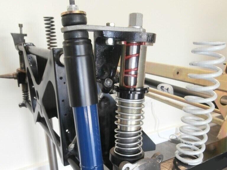 Morgan SSL RS front suspension upgrade