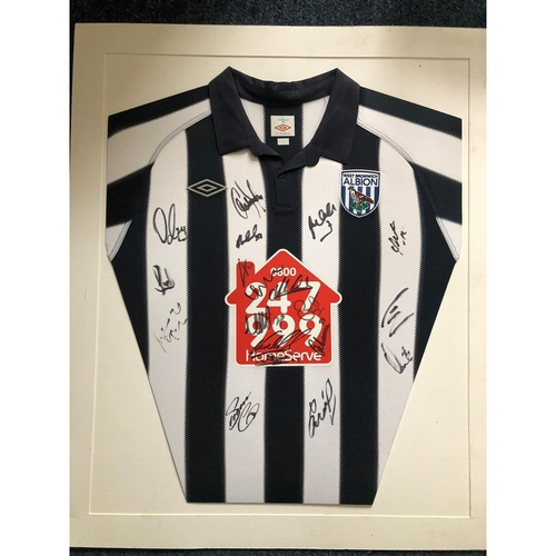 West Bromwich Albion Multi Signed Shirt 2010/11