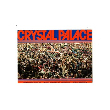 Crystal Palace Home Football Programmes
