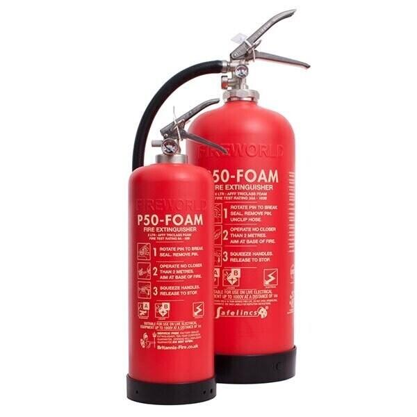 P50 Fire Extinguishers
