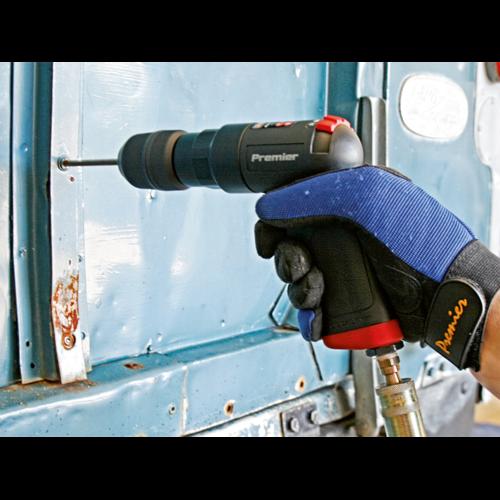 Air Pistol Drill Ø10mm with Keyless Chuck Composite Premier - Sealey - SA620