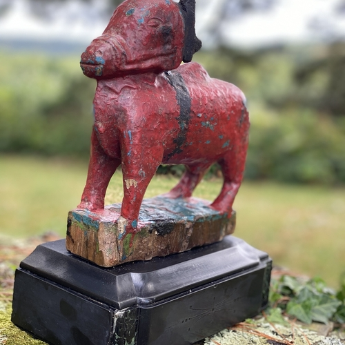 Antique  Sacred Nandi Bull