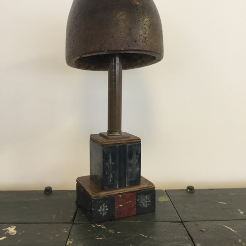 Old Fez Hat Mould on Display Stand