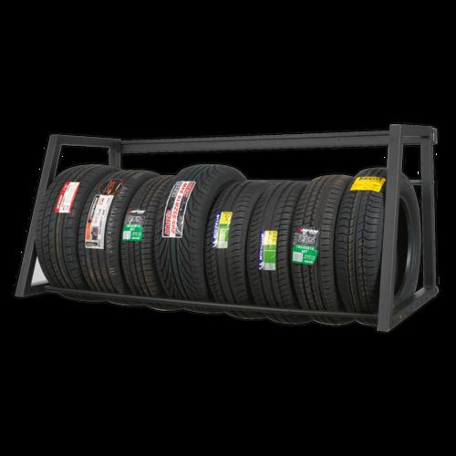 Extending Tyre Rack Wall or Floor Mounting - Sealey - STR001