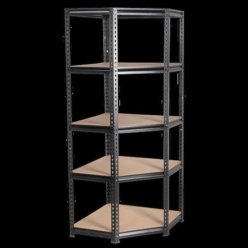 Corner Racking Unit 5 Level 150kg Capacity Per Level - Sealey - AP7150C