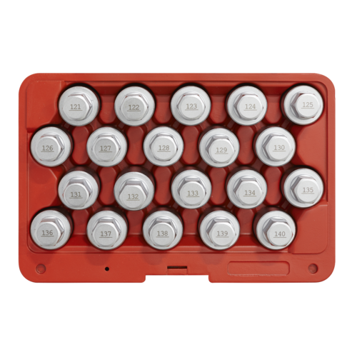 Locking Wheel Nut Key Set 20pc - Vauxhall-B - Sealey - SX215