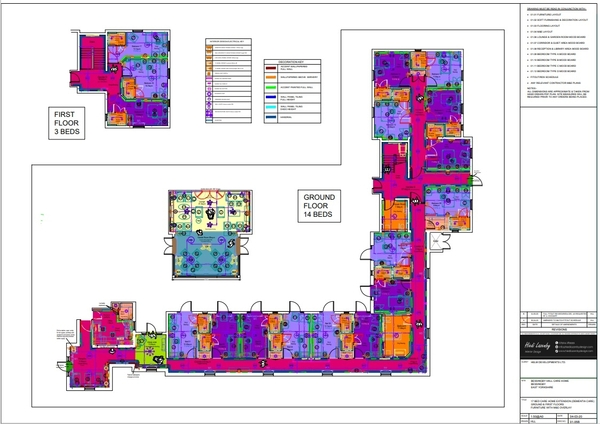 Three interior design projects for Burlington Care
