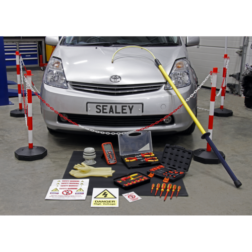 Hybrid Workshop Tool Kit - Sealey - HP55KITCOMBO