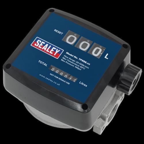 Diesel & Fluid Flow Meter - Sealey - TP956