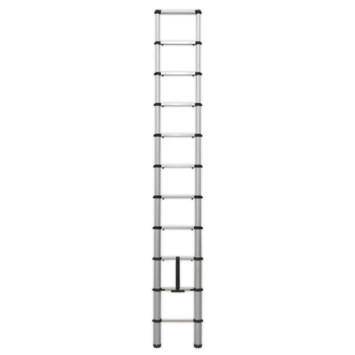 Aluminium Telescopic Ladder 11-Tread EN 131 - Sealey - ATL11