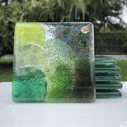 All Green Coaster (Square)