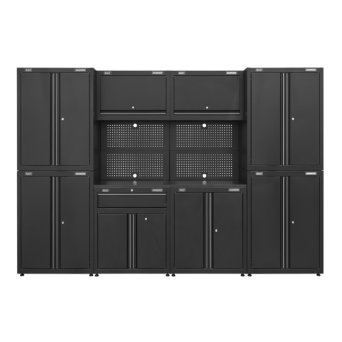 Garage Storage System 10pc - Sealey - APMS10HFP
