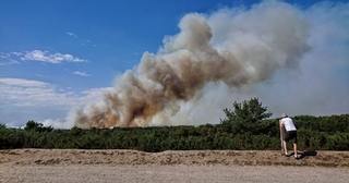 Applied Resilience supports the emergency response to Chobham Wildfire