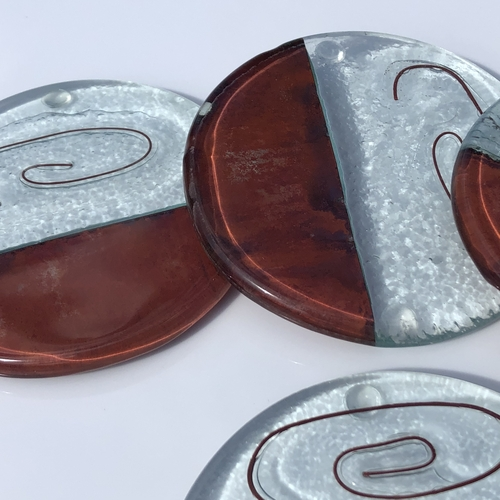 Copper Brown - Coaster (Round)