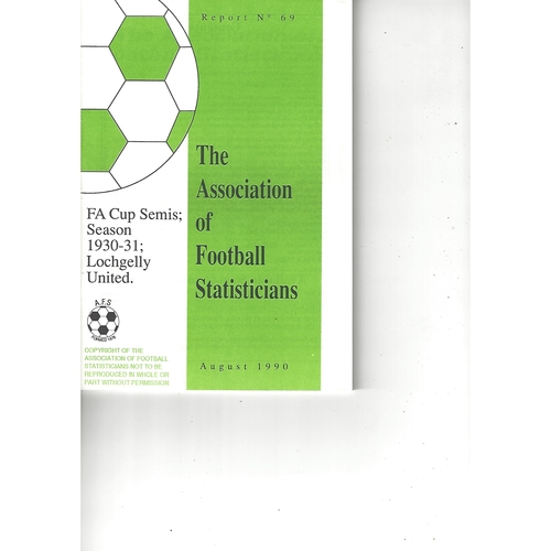 The Association of Football Statisticians Report No. 69