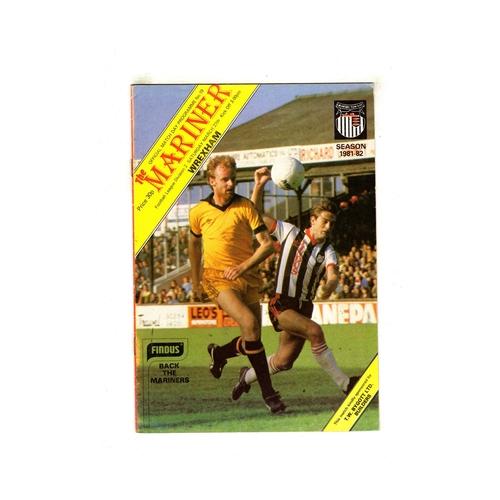Wrexham Away Football Programmes