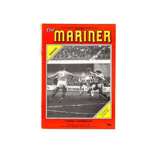 Barnsley Away Football Programmes