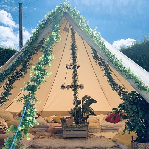 6-meter Sleepover Bell Tent