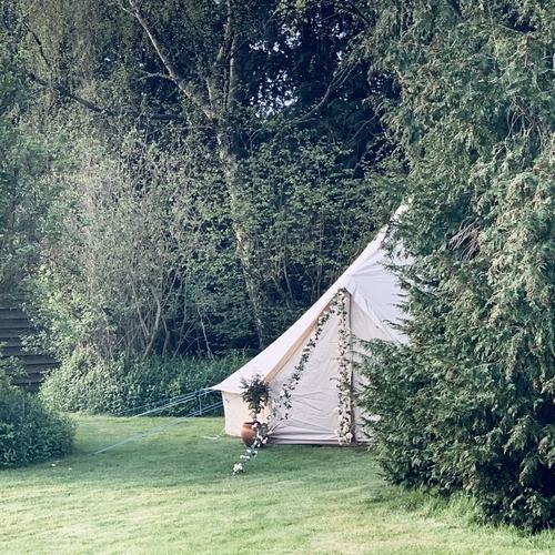 7-meter Sleepover Bell Tent