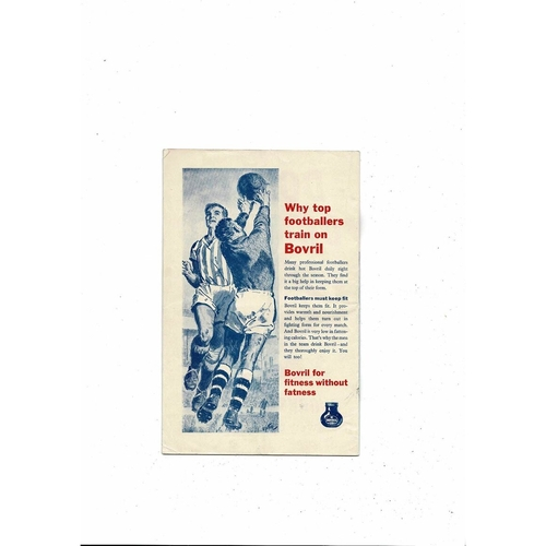 Burnley v Tottenham 1962 FA Cup Final Football Programme + Newspaper