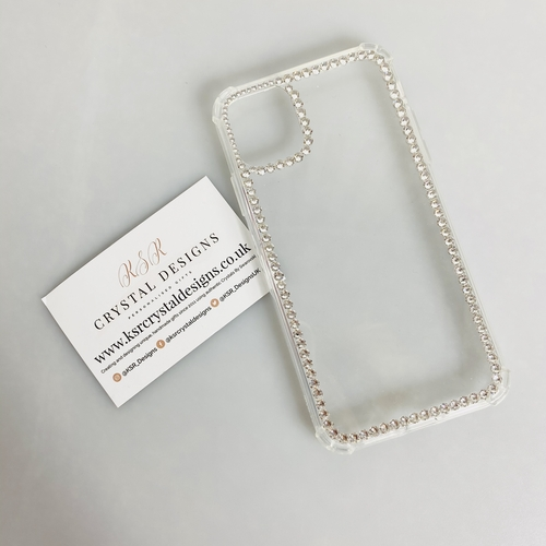 Swarovski Crystal Outline iPhone Case