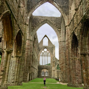 Tintern Abbey and the Wye Valley