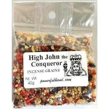 High John the Conqueror Incense Grains