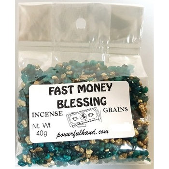Fast Money Blessing Incense Grains