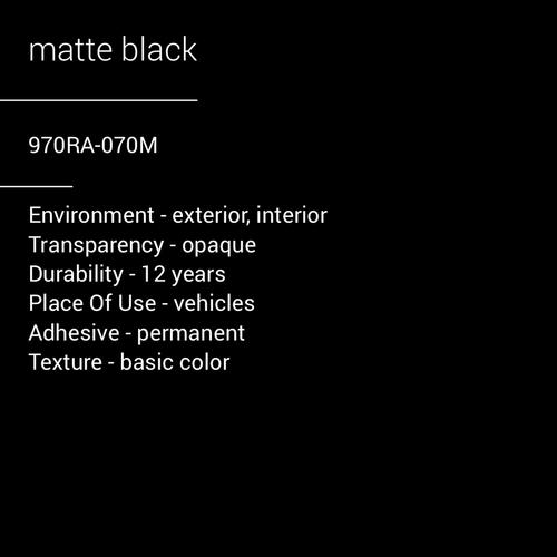 ORACAL® 970RA-70M - Matte Black