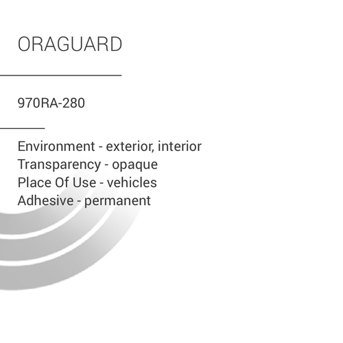 ORACAL® 970RA-280 - Oraguard