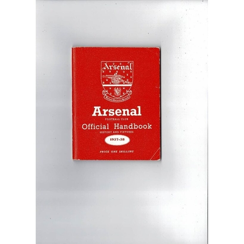 Arsenal Official Football Handbook 1957/58