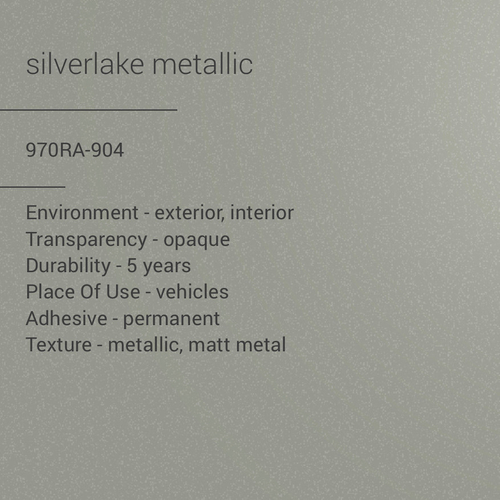 ORACAL® 970RA-904 -  Silverlake Metallic