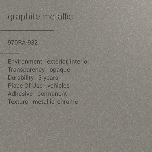 ORACAL® 970RA-932 -  Graphite Metallic