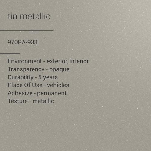 ORACAL® 970RA-933 - Tin Metallic