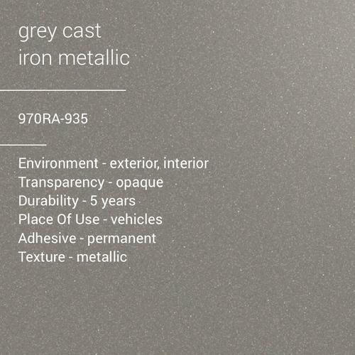 ORACAL® 970RA-935 - Cast Grey iron Metallic