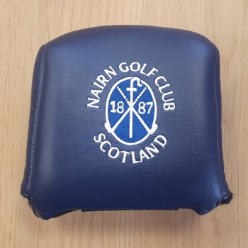 Nairn Golf Club AM&E Mallet Putter headcover Navy