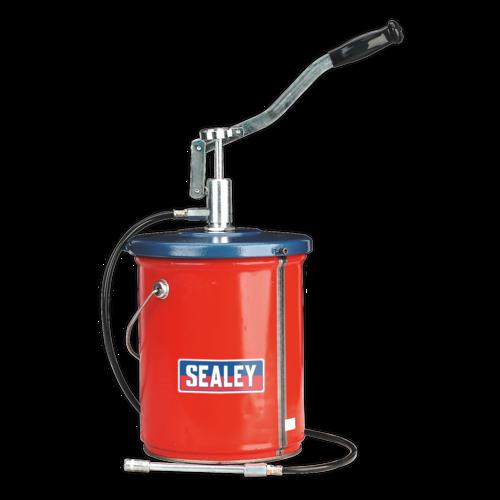 Bucket Greaser with Follower Plate 12.5kg Extra Heavy-Duty - Sealey - AK455