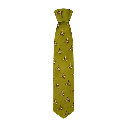 Hoggs of Fife Silk Country Tie Gold