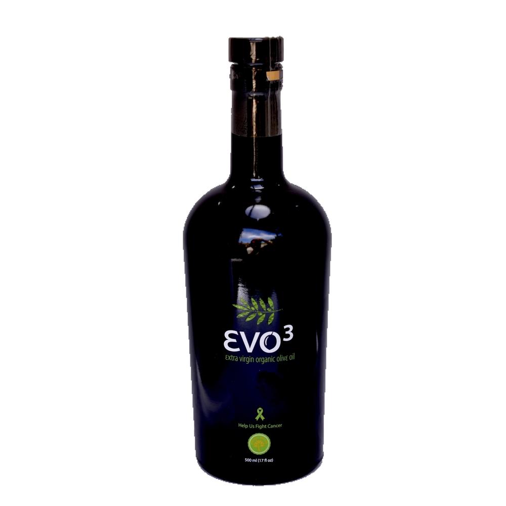 EVO3 500ml Extra Virgin Organic Olive Oil